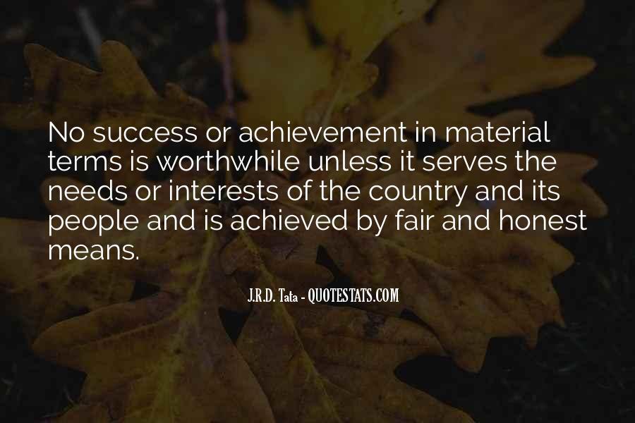 Quotes On Achievement Success #330508