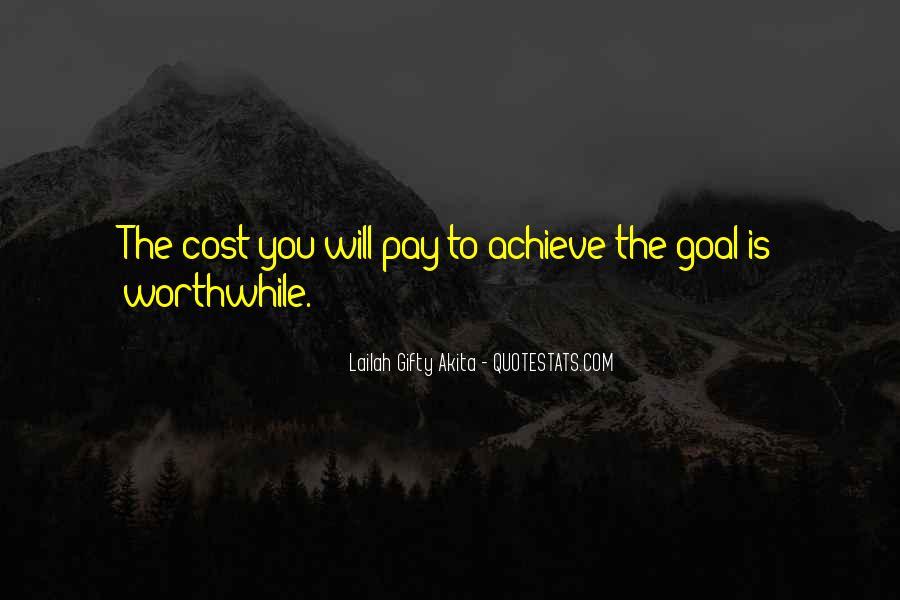 Quotes On Achievement Success #341321