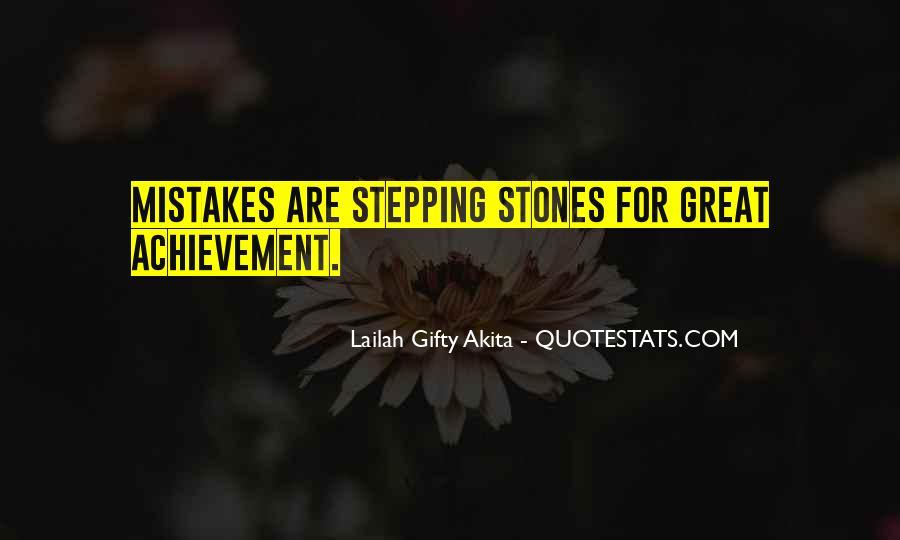 Quotes On Achievement Success #394779