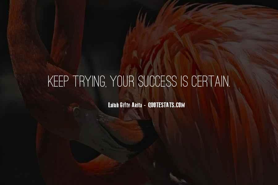 Quotes On Achievement Success #419046