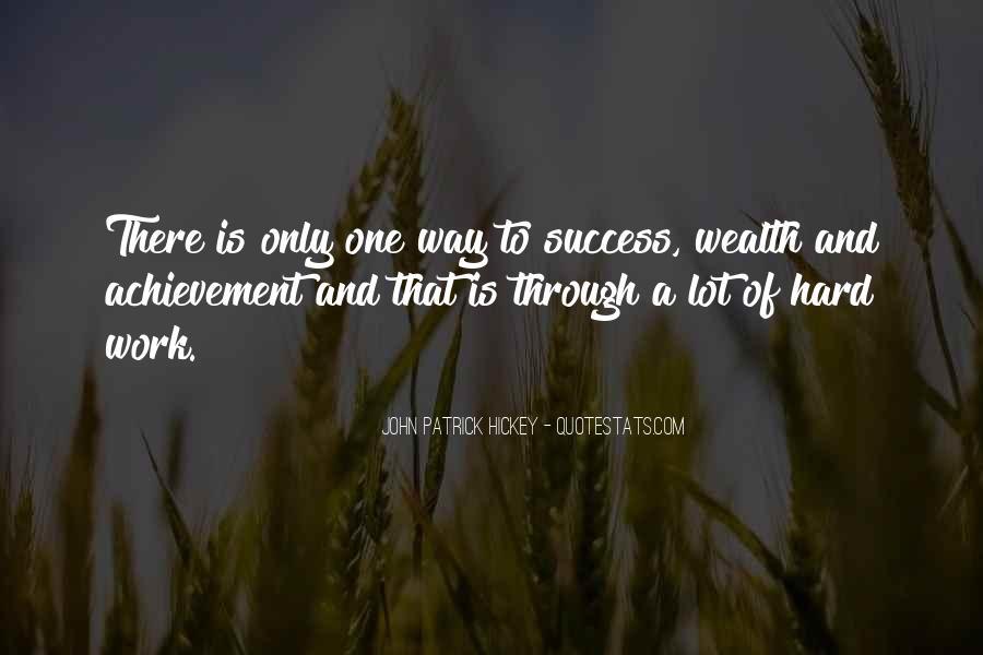 Quotes On Achievement Success #422598