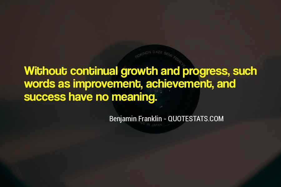 Quotes On Achievement Success #61013