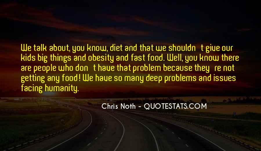 Quotes About Obesity And Fast Food #845070