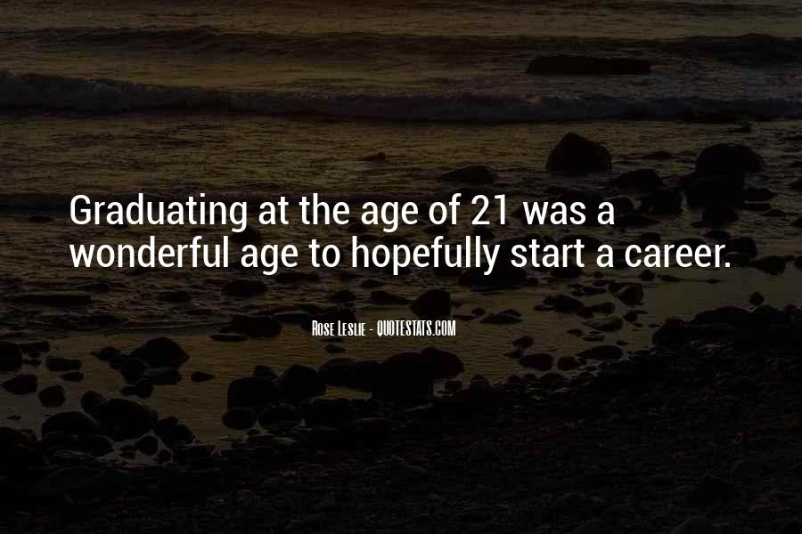 Quotes On Age 21 #1076718