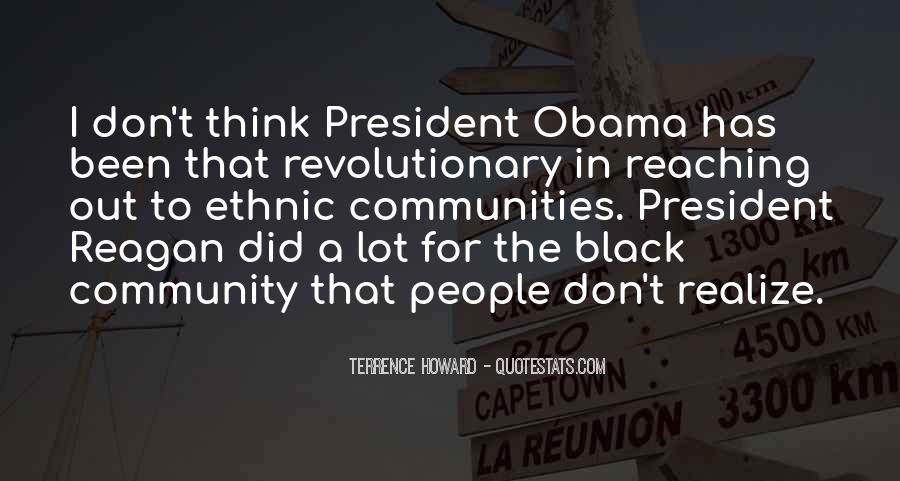 Quotes About Obama Reagan #1096063