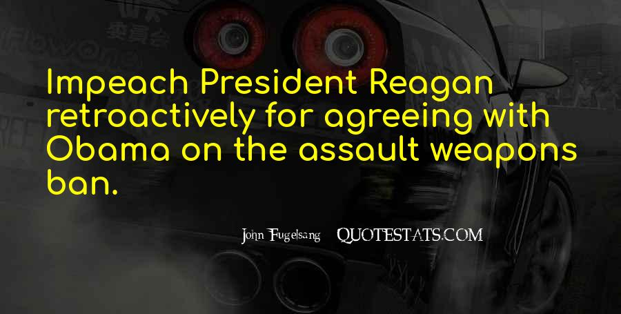Quotes About Obama Reagan #1199932