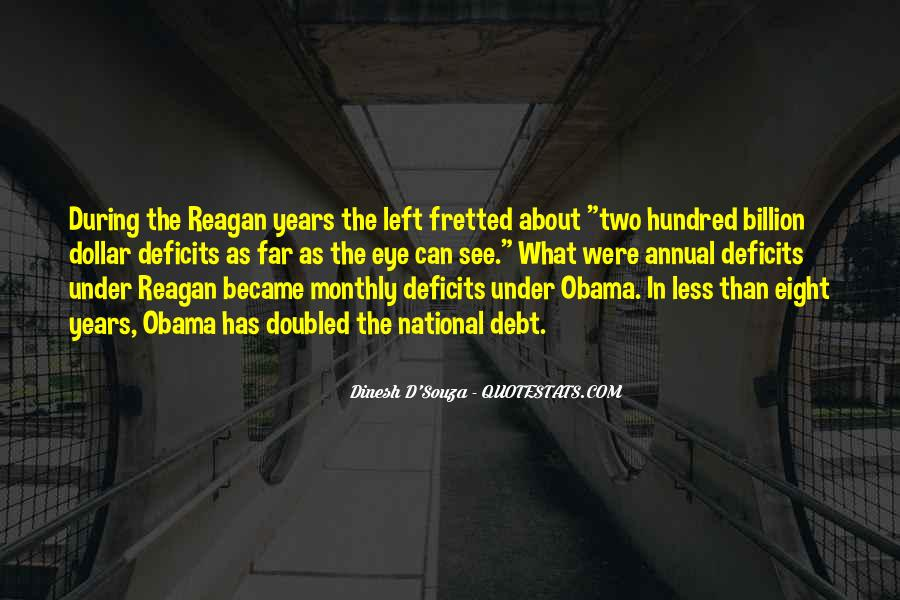 Quotes About Obama Reagan #1348272