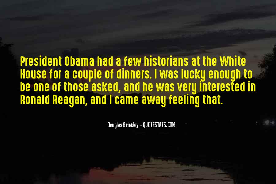 Quotes About Obama Reagan #1763018