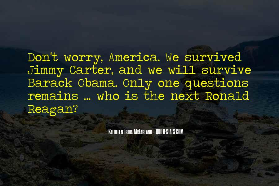 Quotes About Obama Reagan #1773380