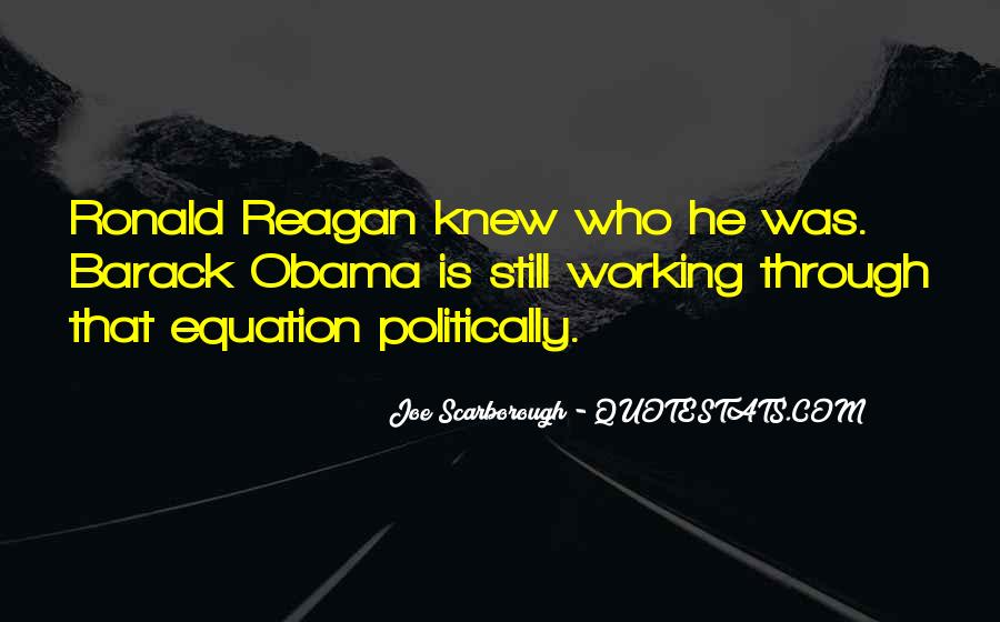Quotes About Obama Reagan #310132