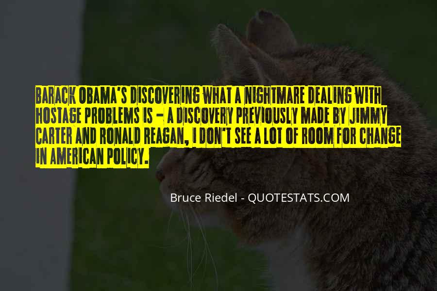 Quotes About Obama Reagan #327284