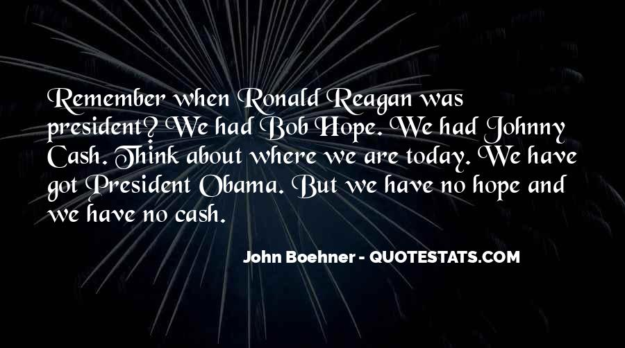 Quotes About Obama Reagan #414397