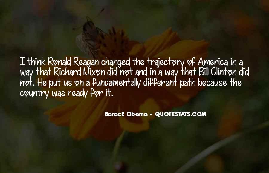 Quotes About Obama Reagan #515947