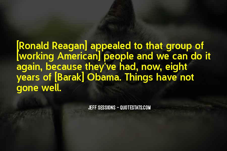Quotes About Obama Reagan #544576