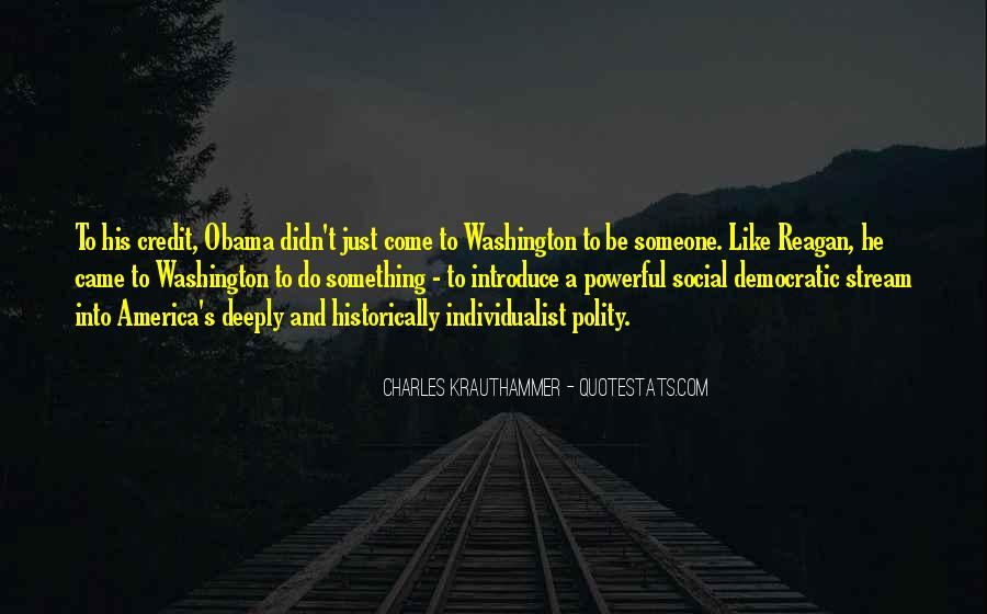 Quotes About Obama Reagan #562158