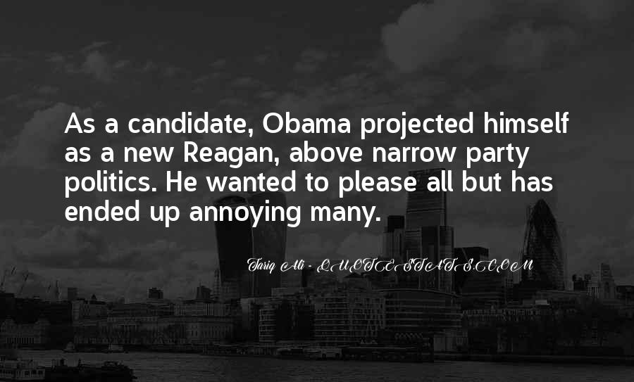 Quotes About Obama Reagan #625877