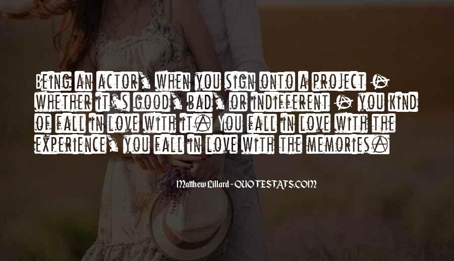Quotes On Bad Experience In Love #1015396