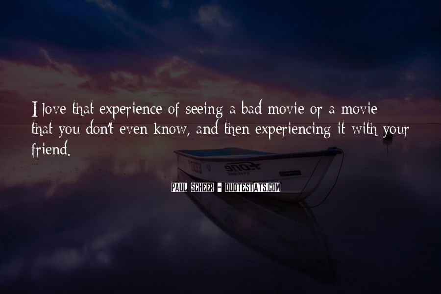 Quotes On Bad Experience In Love #1870760