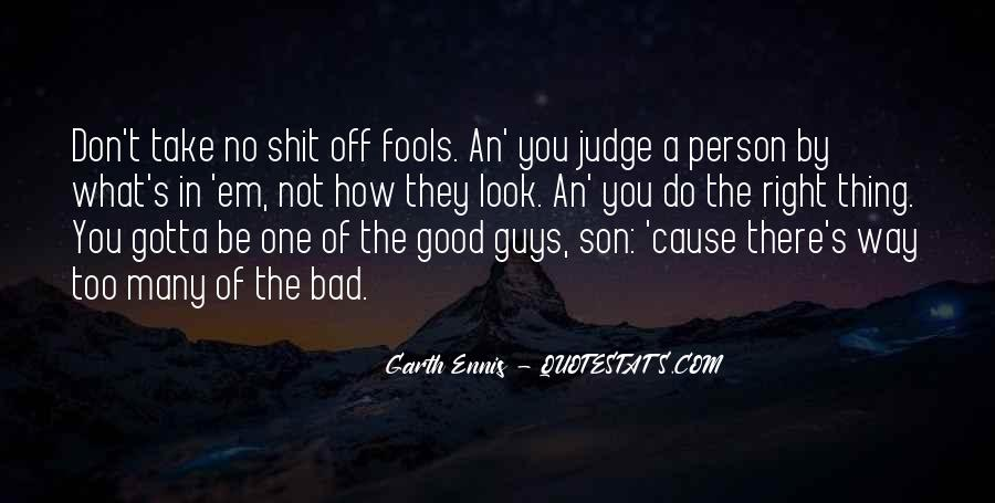 Quotes On Bad Person #102164