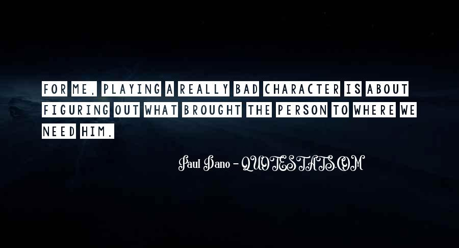 Quotes On Bad Person #146330