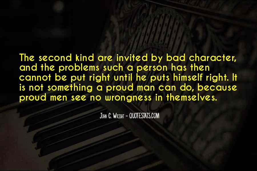Quotes On Bad Person #146467
