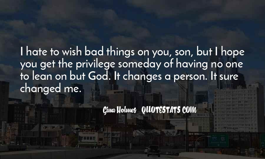 Quotes On Bad Person #167024