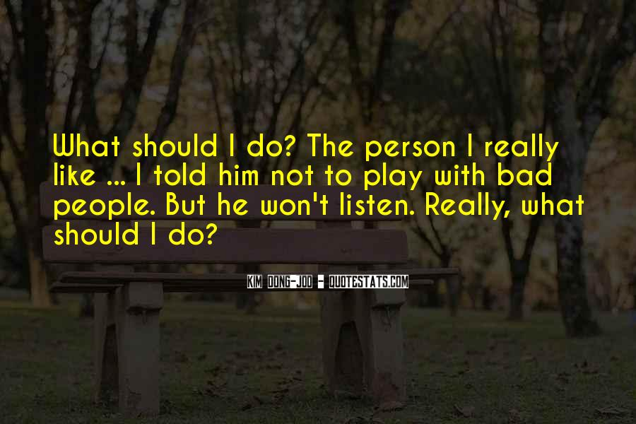 Quotes On Bad Person #171787