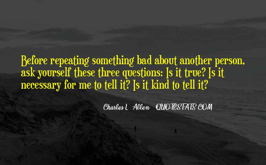 Quotes On Bad Person #201433