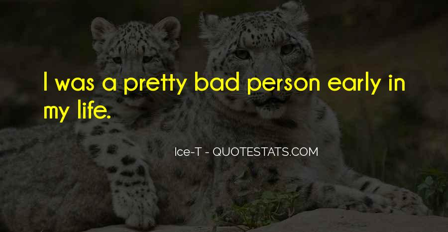 Quotes On Bad Person #241799