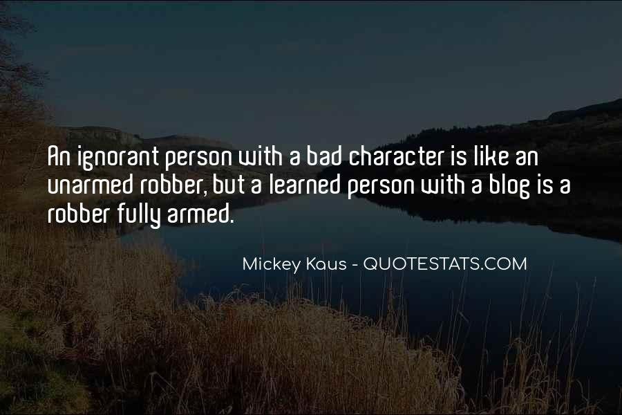 Quotes On Bad Person #279390