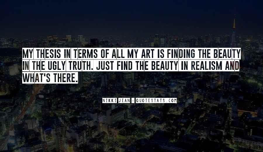 Quotes On Beauty In Art #611318