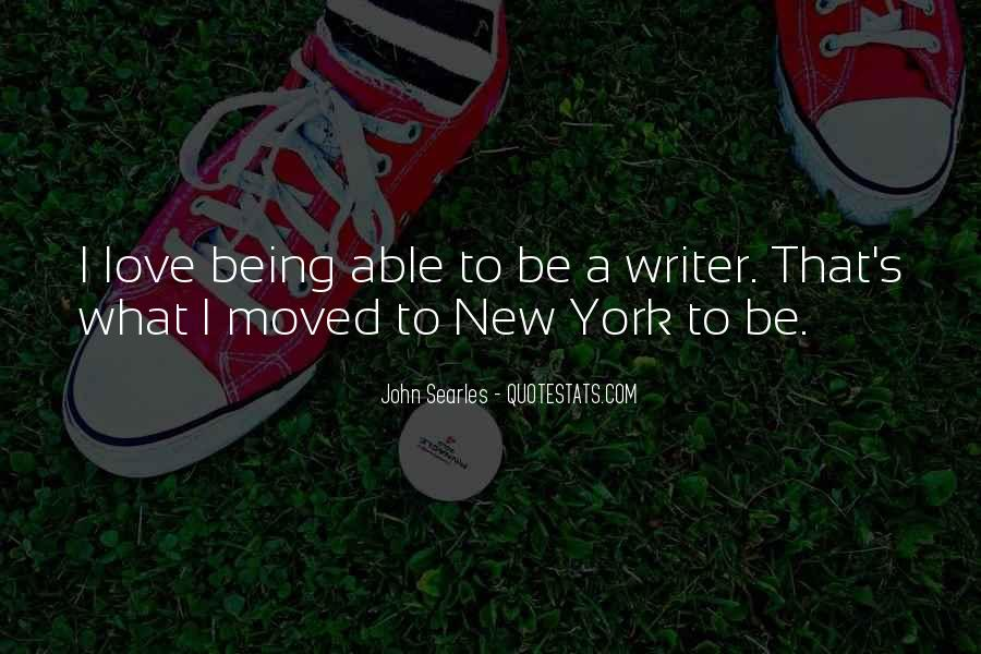 Quotes On Being Inspired To Write #1237325