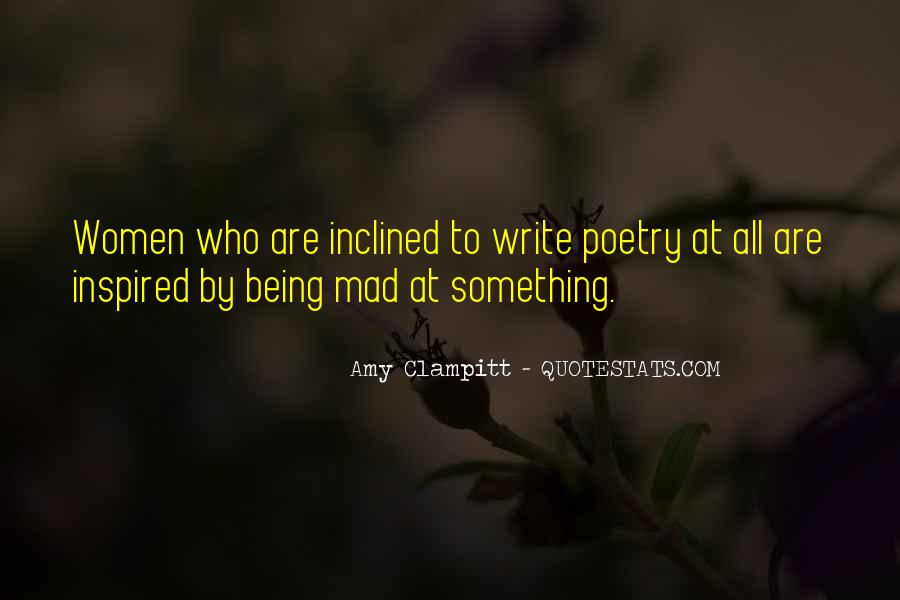 Quotes On Being Inspired To Write #389332