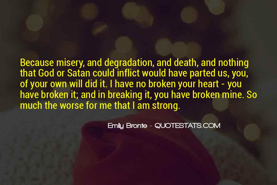 Is breaking broken who someone your is heart when for Touching Broken