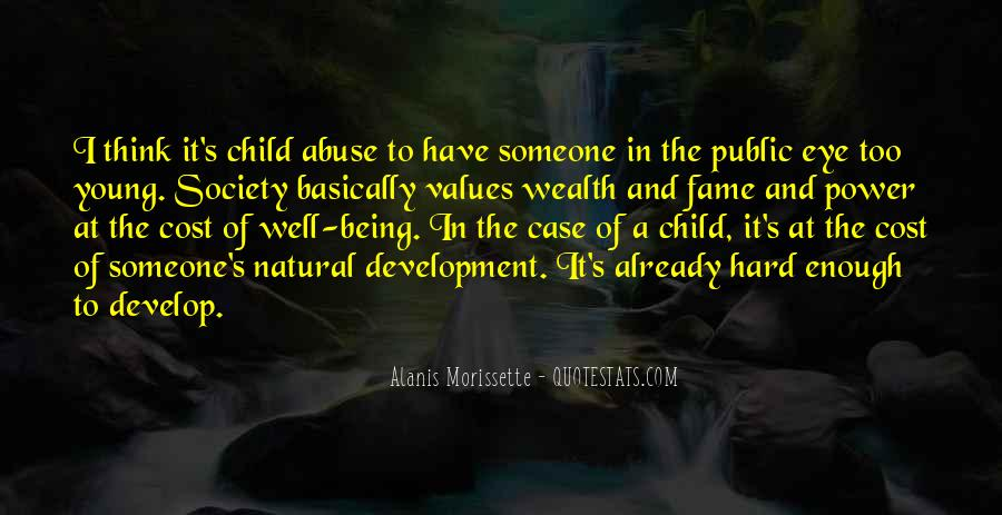 Quotes On Child Well Being #1578585