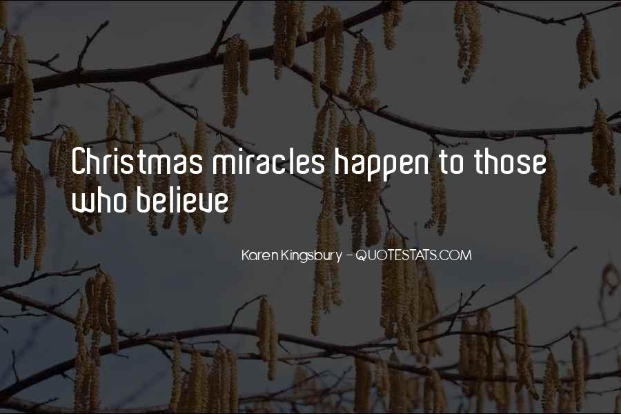 Quotes On Christmas Miracles #1211630