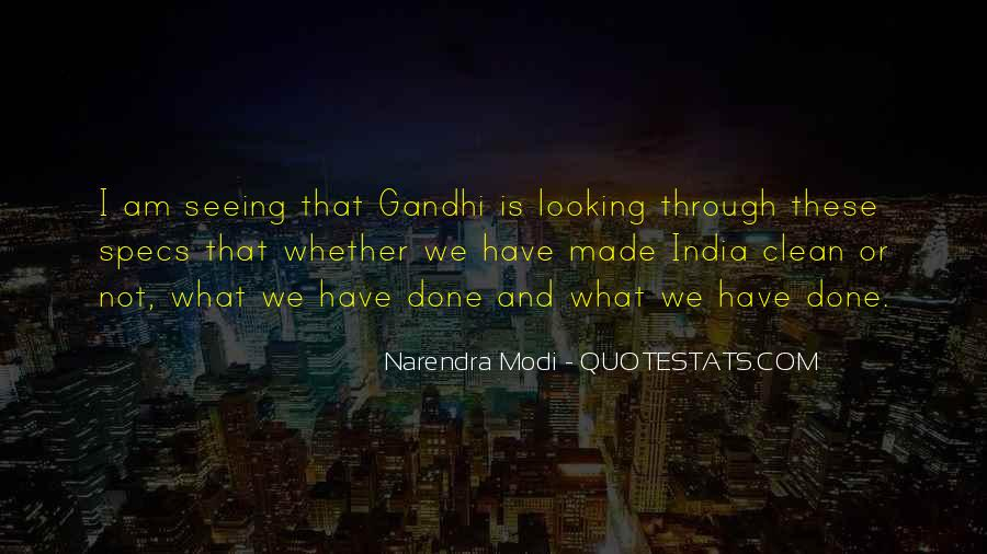 Quotes On Clean India By Gandhi #199207