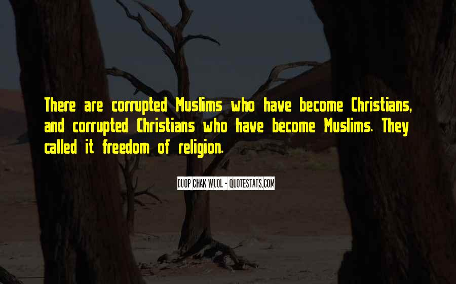 Quotes On Corruption In Islam #1137845