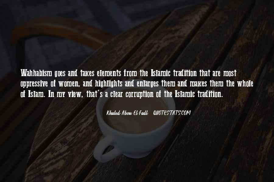 Quotes On Corruption In Islam #688918