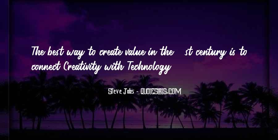 Quotes On Creativity And Technology #30829