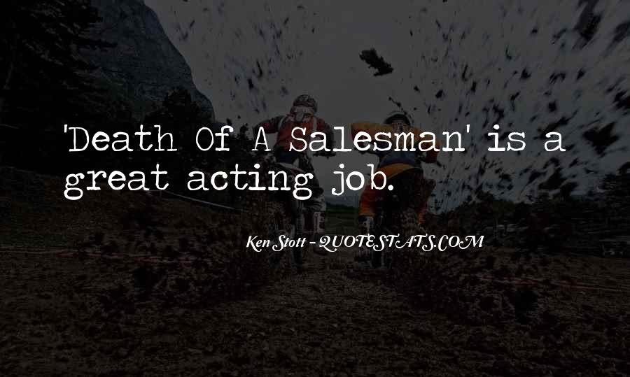 Quotes On Death Of A Salesman #116150