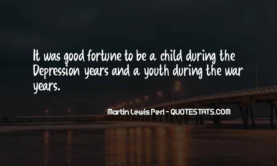 Quotes On Depression In Youth #1102278