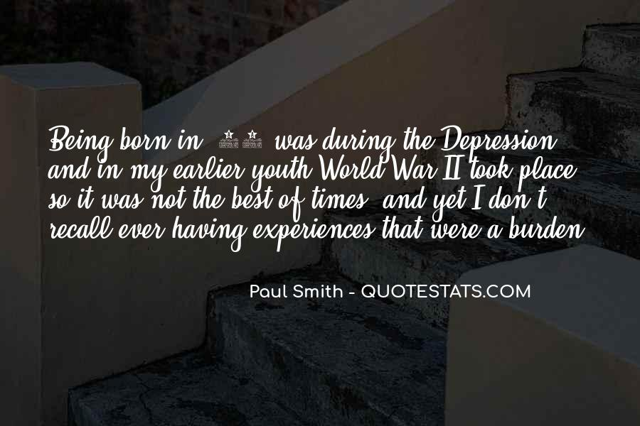 Quotes On Depression In Youth #896840