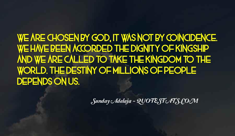 Quotes On Destiny And Coincidence #10783