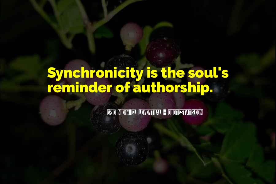 Quotes On Destiny And Coincidence #1315131
