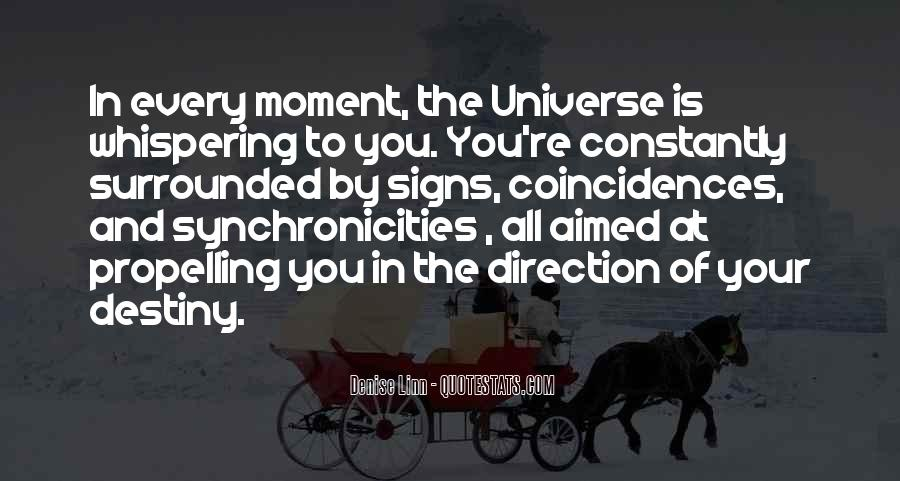 Quotes On Destiny And Coincidence #204790