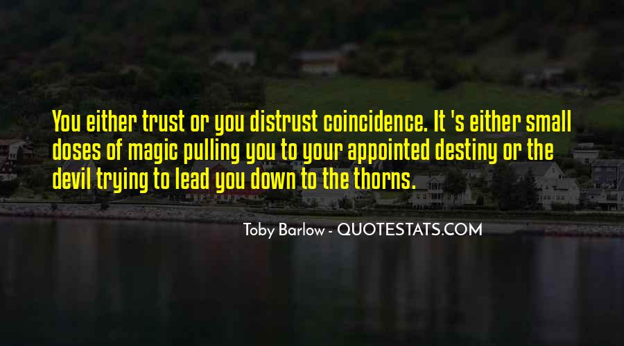 Quotes On Destiny And Coincidence #376065