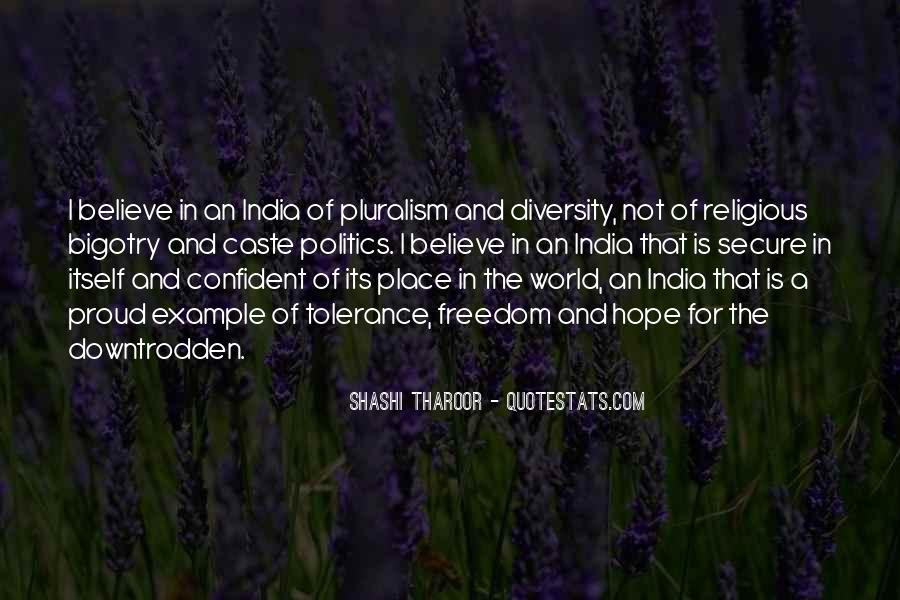Quotes On Diversity And Pluralism #1875081