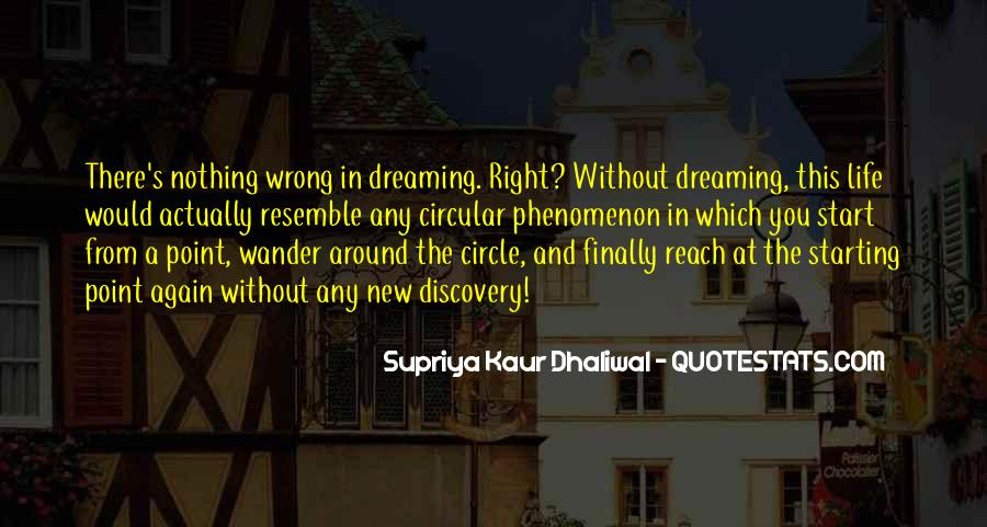 Quotes On Dreaming Again #1070466