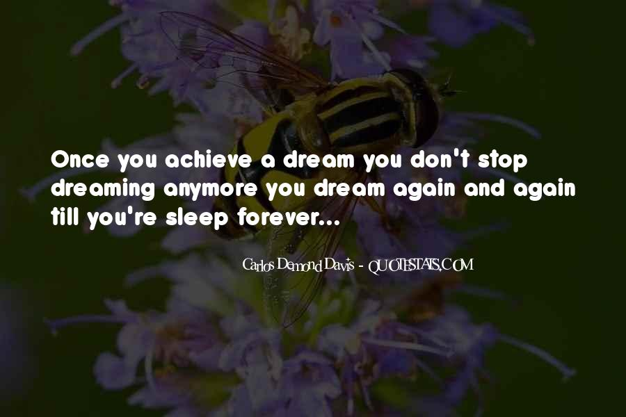 Quotes On Dreaming Again #1216979